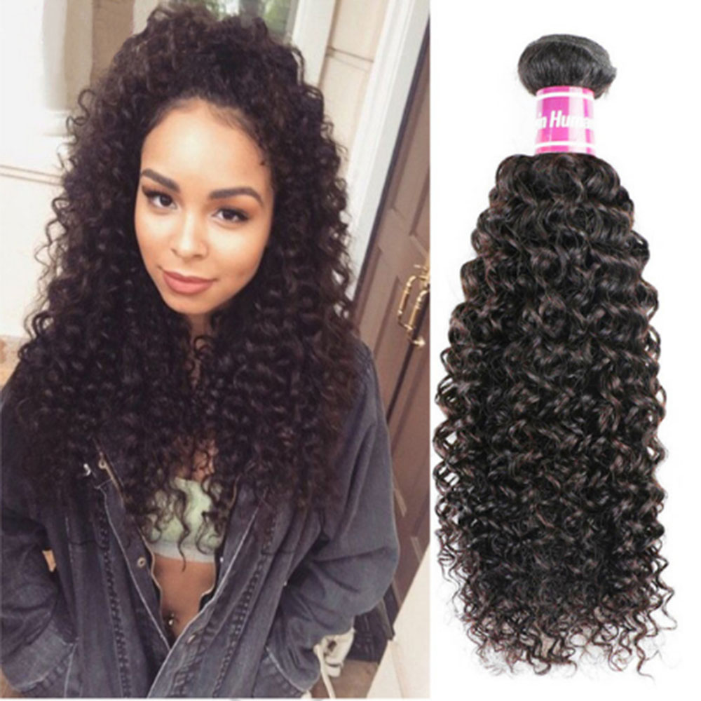 Deep Curly Hair Extensions 8a Unprocessed Indian Curly